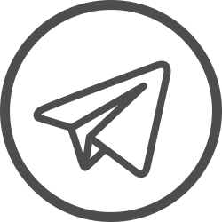 Icone da rede social Telegram