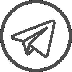Icone da rede social Telegram